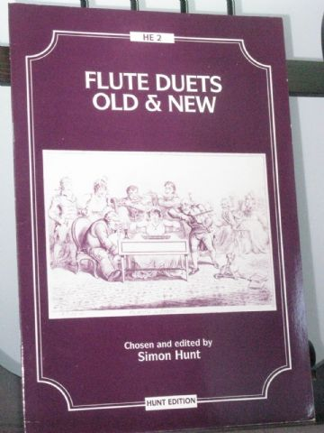 Flutes Duets Old and New arr Hunt S